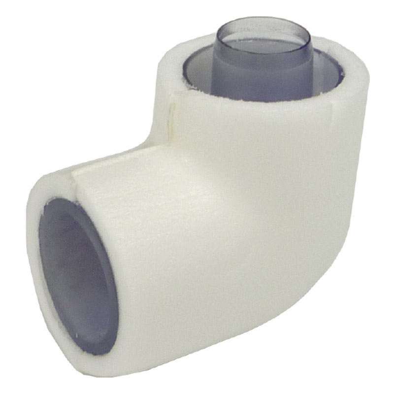 dsh-20ned Hose to Pipe ADAPTOR ELL 20 w/INS