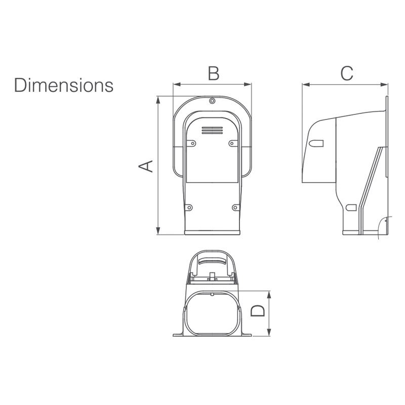 SWK WALL INLET (Ventilation)